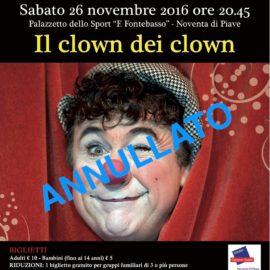 ANNULLATO SPETTACOLO DAVID LARIBLE