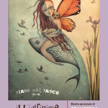 FIABE NEL PARCO FESTIVAL 2019 – Illustrissima Mostra di Francesca Dafne Vignaga