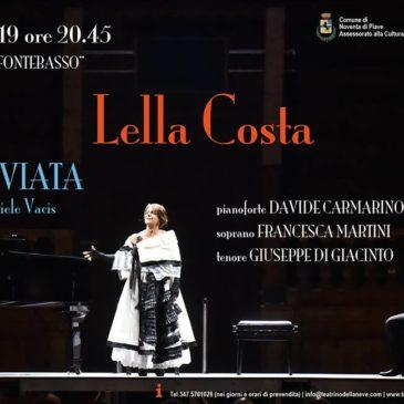 Vertigini 2019 – Lella Costa in LA TRAVIATA