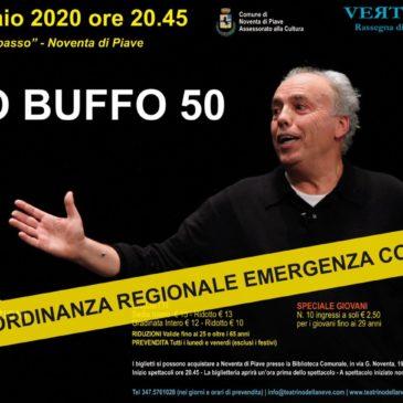 Mario Pirovano in Mistero Buffo ANNULLATO